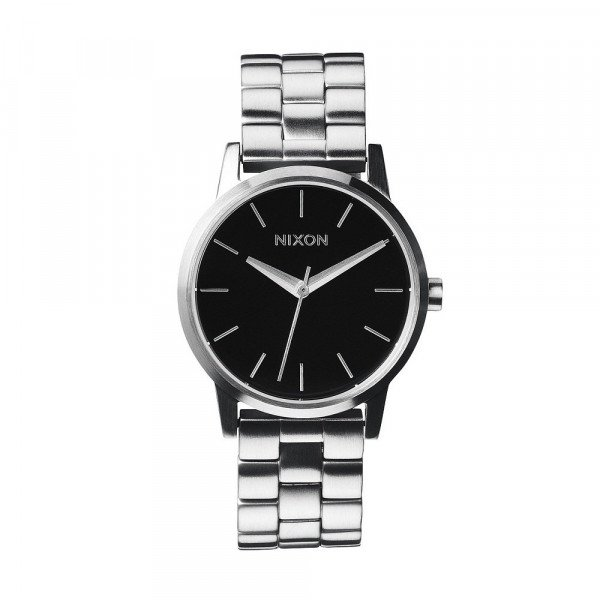 NIXON PULKSTENIS SMALL KENSINGTON BLACK
