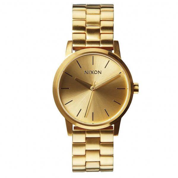 NIXON PULKSTENIS SMALL KENSINGTON ALL GOLD