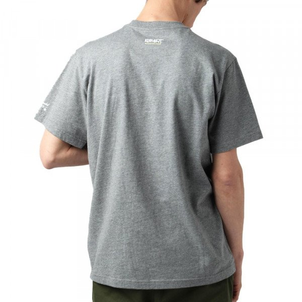 ELEMENT T-SHIRT COMMIT BLOCK SS TEE GREY HEATHER S18