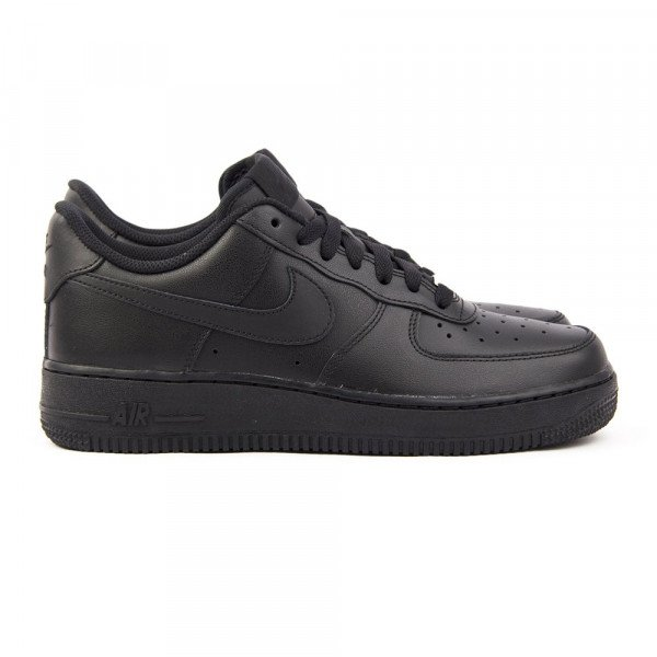 NIKE APAVI AIR FORCE 1 '07 W BLACK BLACK S18