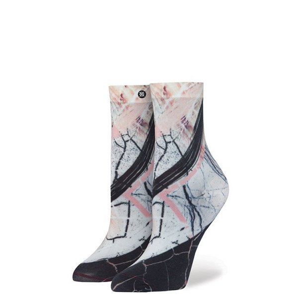 STANCE ZEĶES RESERVE WOMENS CRACKLE WHITE