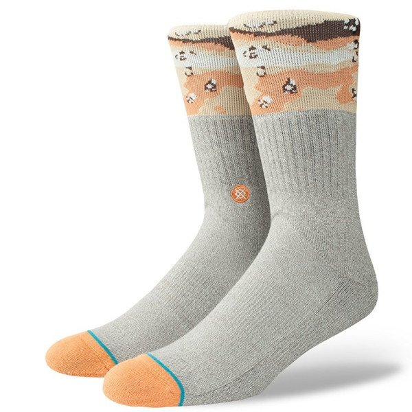 STANCE ZEĶES BLUE FOUNDATION MOJAVE GREY