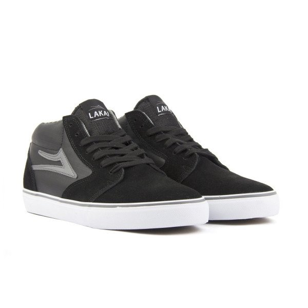 LAKAI APAVI FURA HIGH WT BLACK GREY SUEDE F17