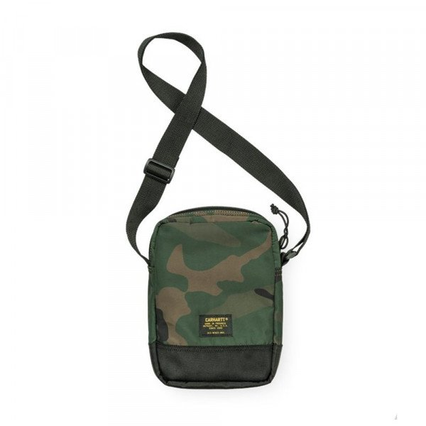 CARHARTT WIP SOMA MILITARY SHOULDER BAG CAMO COMBAT GREEN S18