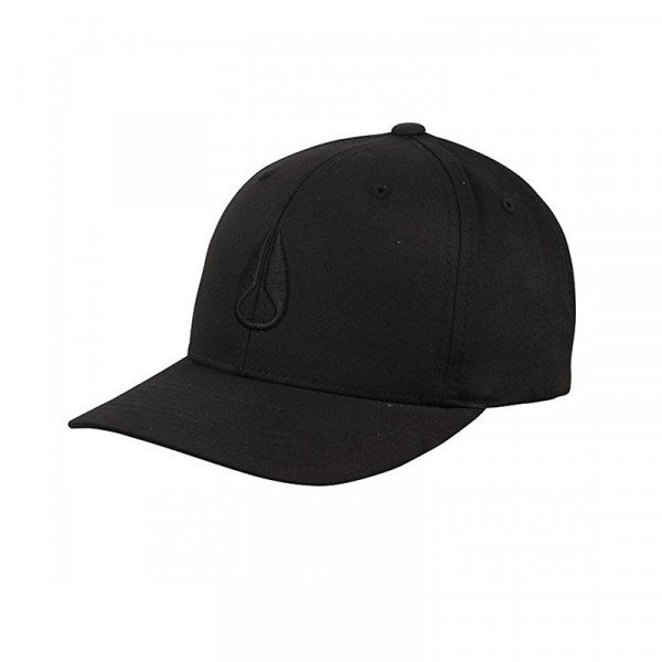 NIXON CEPURE WINGS SNAPBACK ALL BLACK