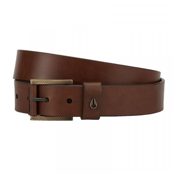 NIXON JOSTA AMERICANA SE SLIM BELT BLACK BROWN