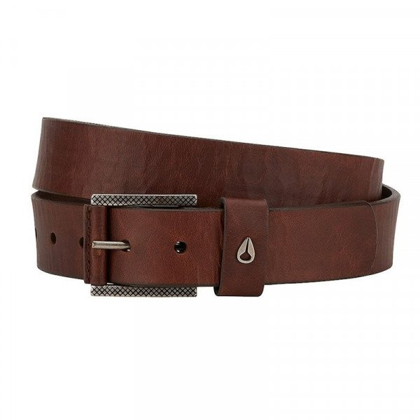 NIXON BELT AMERICANA SE SLIM BELT BROWN