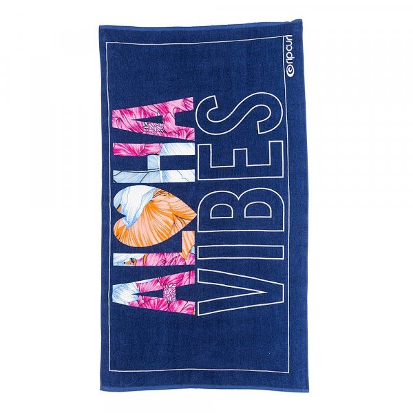 RIP CURL DVIELIS ALOHA VIBES TOWEL BLUE S17