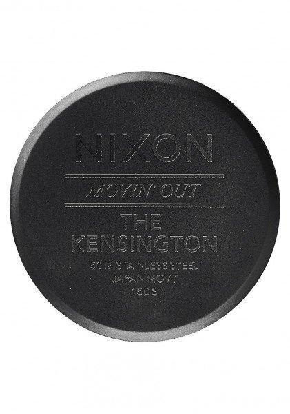 NIXON PULKSTENIS KENSINGTON ALL BLACK