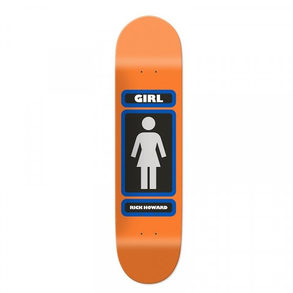 GIRL SK8KLĀJS HOWARD 93 TIL DECK 8.5