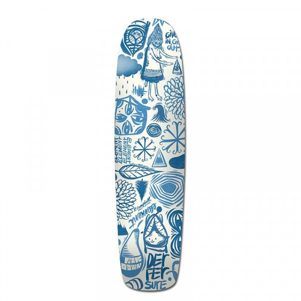 ELEMENT SK8KLĀJS INDIGO EVERYTHING C 7.75
