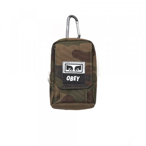 OBEY SOMA DROP OUT UTILITY BAG FIELD CAMO S18
