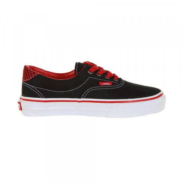 VANS APAVI ERA 59 KIDS (CHECKERBOARD POP) BLACK/RED SP13