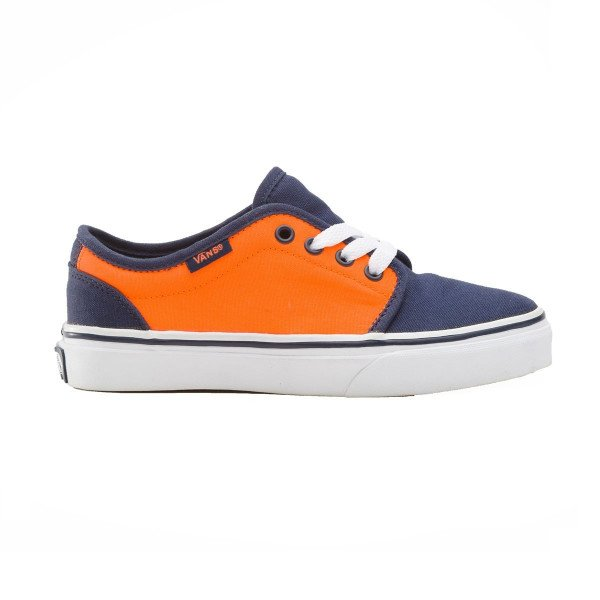 VANS APAVI 106 VULCANIZED KIDS DRESS BLUES/NEON ORANGE SP13