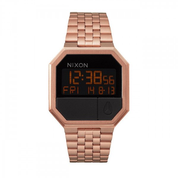 NIXON PULKSTENIS RE-RUN ALL ROSE GOLD
