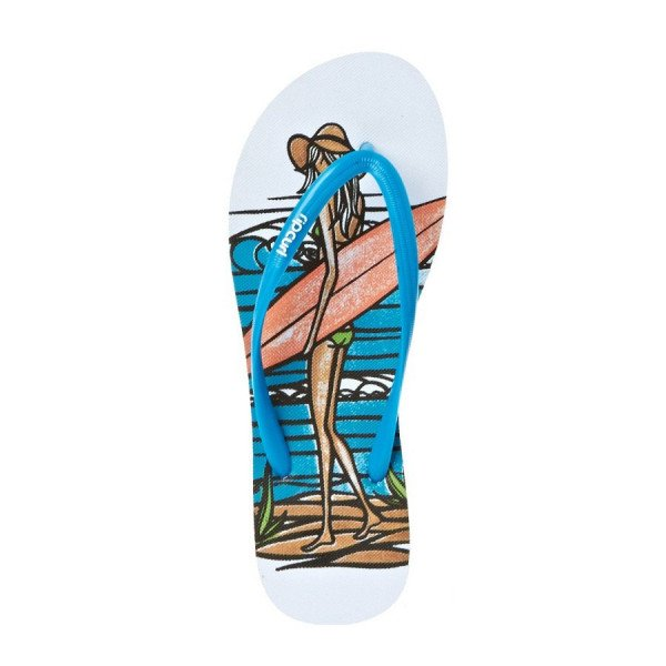 RIP CURL SANDALES HEATHER BROWN BLUE MULTI