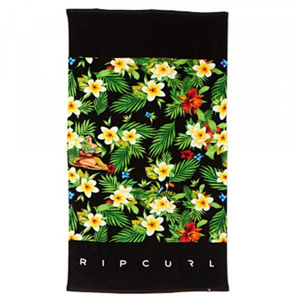 RIP CURL DVIELIS BRASH TOWEL BLACK SP15