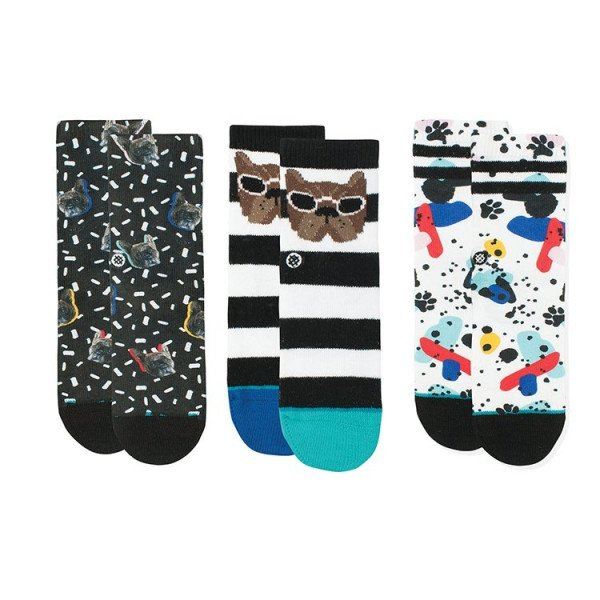 STANCE SOCKS NAPKIN APOCALYPSE BOX SET KIDS MULTI