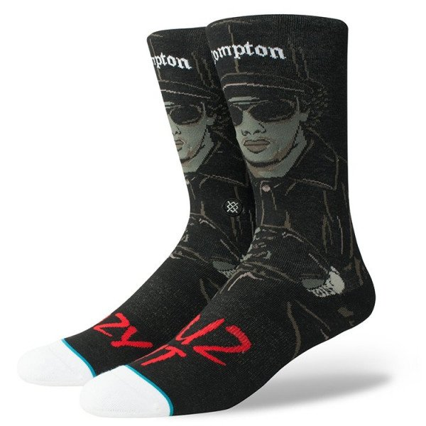 STANCE ZEĶES ANTHEM EAZY DUZ IT BLACK