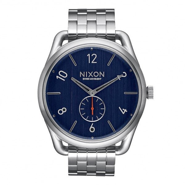 NIXON WATCH C45 SS NAVY