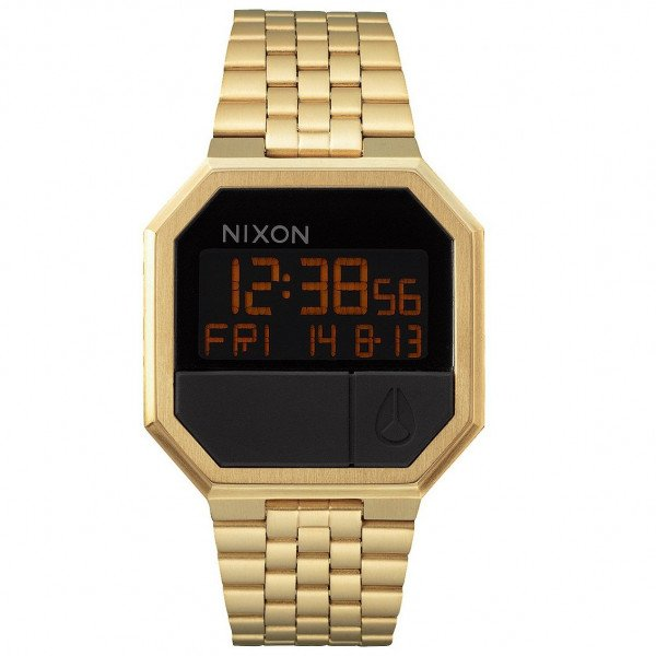 NIXON PULKSTENIS RE-RUN ALL GOLD