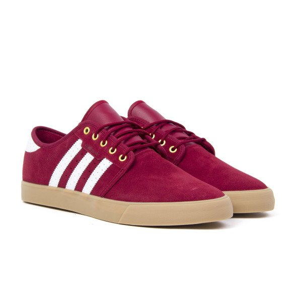 ADIDAS APAVI SEELEY COLLEGIATE BURGUNDY WHITE GOLD MET F18