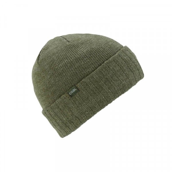 COAL BEANIE ROGERS HEATHER OLIVE F18