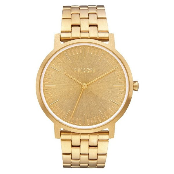 NIXON WATCH PORTER ALL GOLD