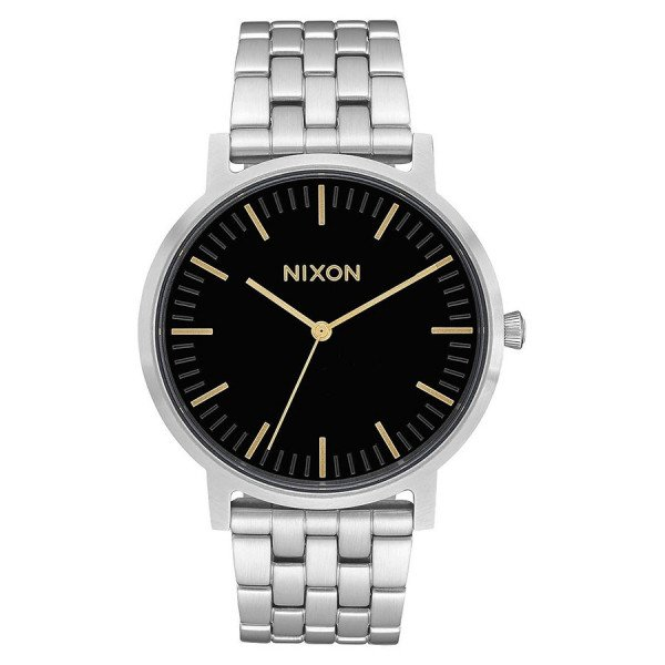 NIXON WATCH PORTER BLACK GOLD