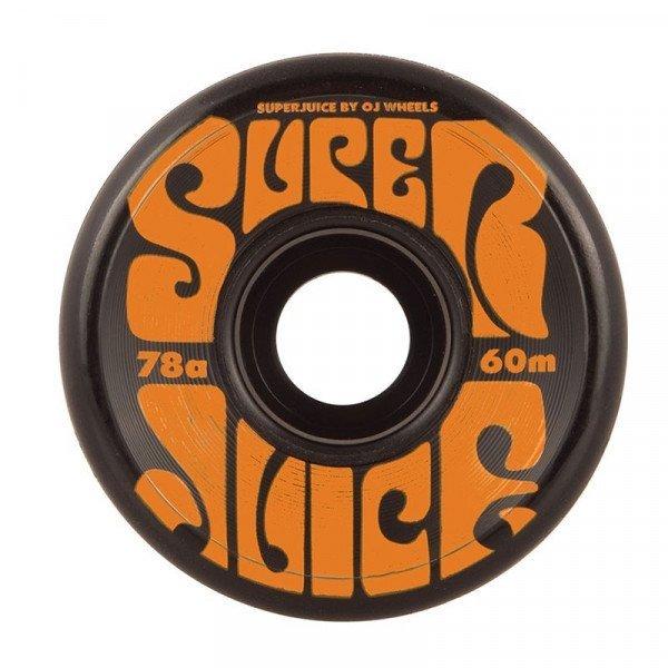 OJ SK8RITEŅI SUPER JUICE BLACK 60 MM 78A