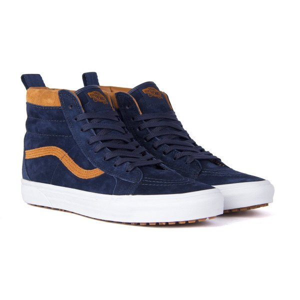 VANS APAVI SK8-HI MTE (MTE) SUEDE DRESS BLUES F18