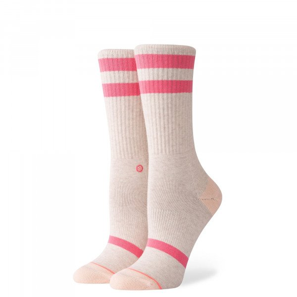 STANCE ZEĶES W UNCOMMON SOLIDS CLASSIC HEATHER PINK