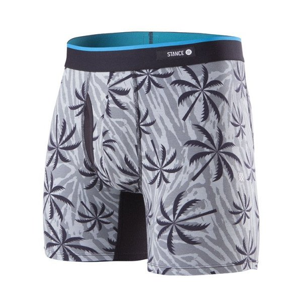 STANCE APAKŠVEĻA PALM TRIPPER BOXER BRIEF BLACK