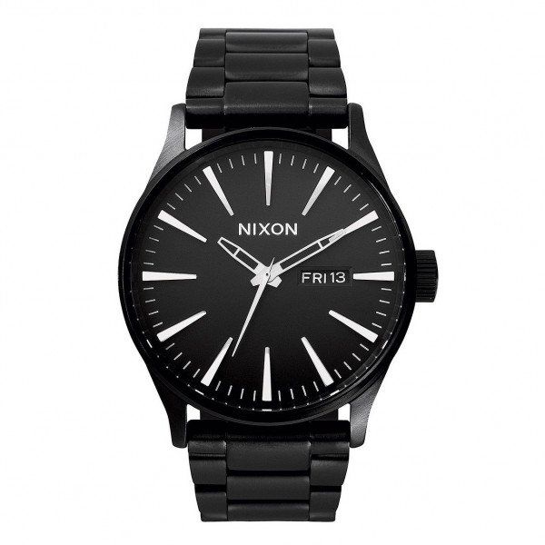 NIXON WATCH SENTRY SS ALL BLACK