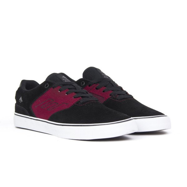 EMERICA APAVI REYNOLDS LOW VULC BLACK BERRY F18