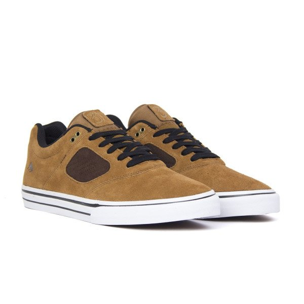 EMERICA APAVI REYNOLDS 3 G6 VULC TAN BROWN F18
