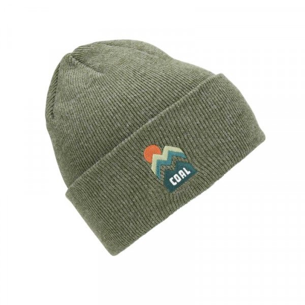 COAL CEPURE DONNER BEANIE HEATHER OLIVE F18