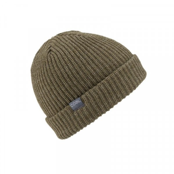 COAL BEANIE STANLEY HEATHER OLIVE F18