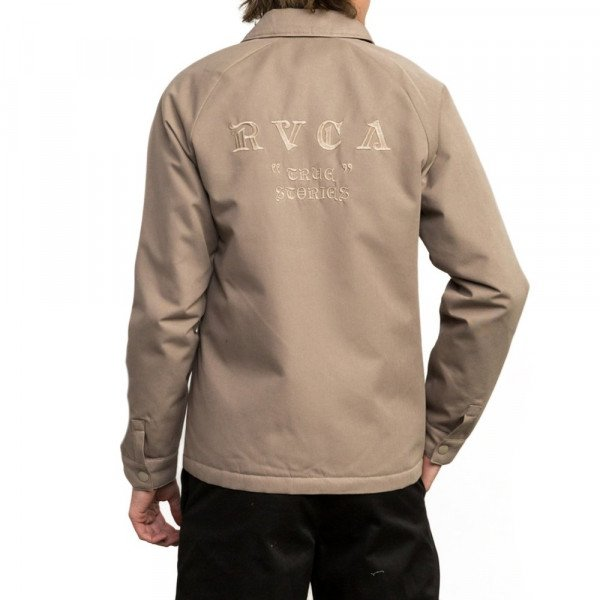 RVCA JAKA COACH OF THE YEAR DARK KHAKI F18