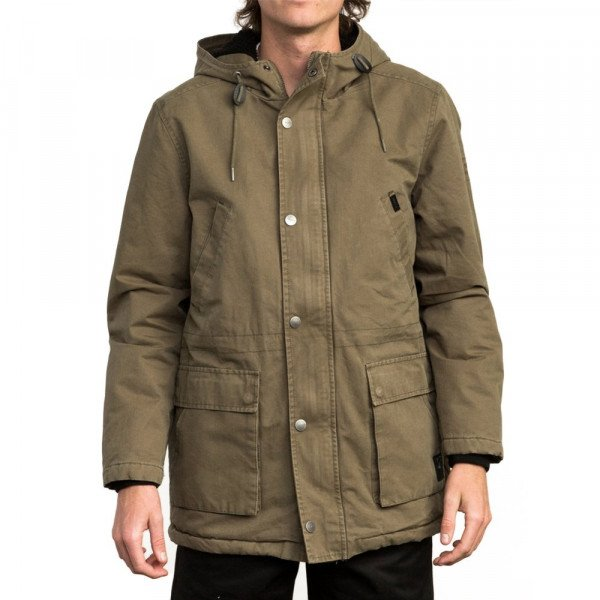 RVCA JAKA GROUND CONTROL II BURNT OLIVE F18