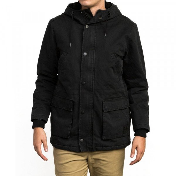 RVCA JAKA GROUND CONTROL II RVCA BLACK F18