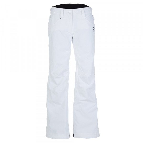 RIP CURL BIKSES QANIK PANT OPTICAL WHITE W18