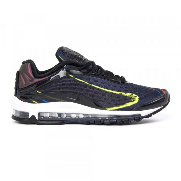 NIKE SHOES AIR MAX DELUXE BLACK MIDNIGHT NAVY F18