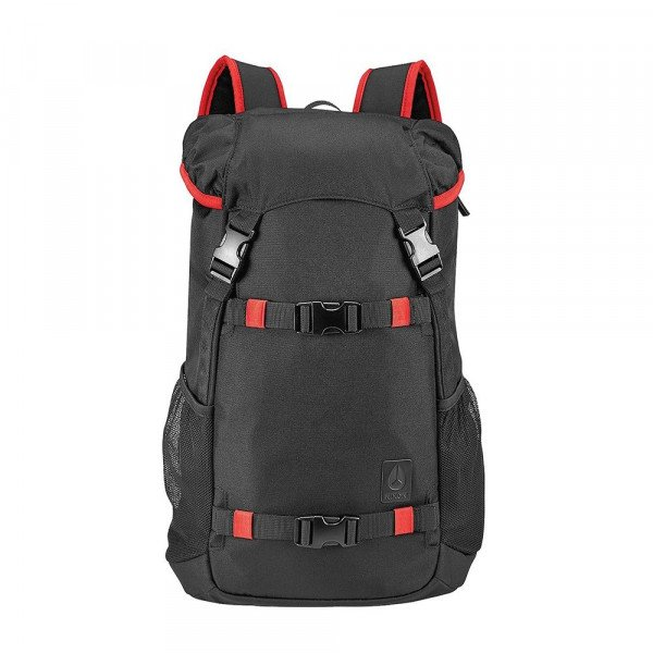 NIXON SOMA LANDLOCK BACKPACK SE II BLACK RED