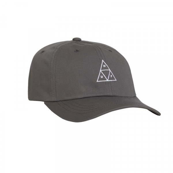 HUF CEPURE TRIPLE TRIANGLE CURVED VISOR CHARCOAL F18