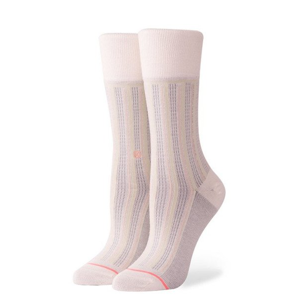 STANCE ZEĶES FOUNDATION WOMEN STRIPE DOWN CREAM