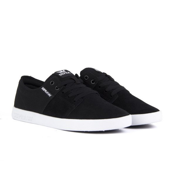 SUPRA APAVI STACKS II BLACK GREY WHITE F18