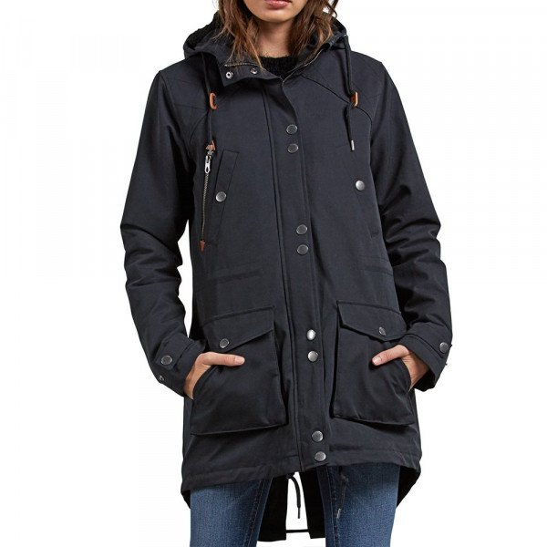 VOLCOM JACKET WALK ON BY PARKA BLK