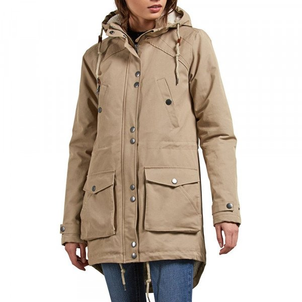 VOLCOM JAKA WALK ON BY PARKA KHA