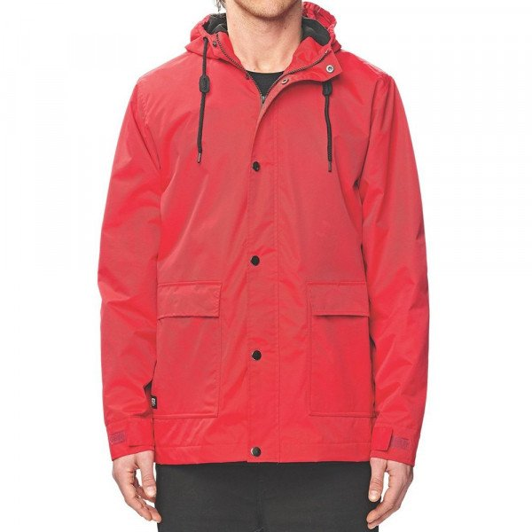 GLOBE JAKA GOODSTOCK THERMAL UTILITY JKT RED F18